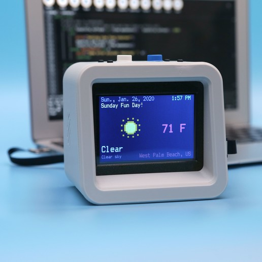 hero-code.jpg Download free STL file ESP32 Retro Weather Station • 3D printer template, Adafruit