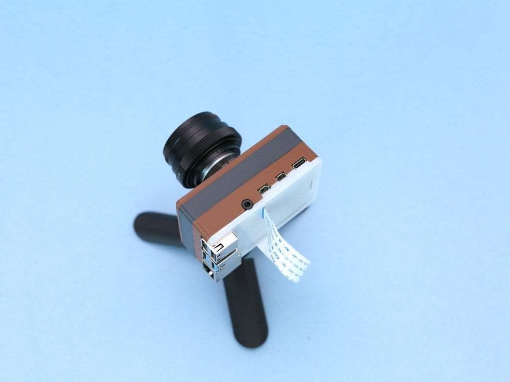hero-camera-topview.jpg Download free STL file Raspberry Pi HQ Camera Case • 3D print design, Adafruit