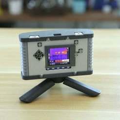 Download free 3D printer files PyBadge Thermal Camera, Adafruit
