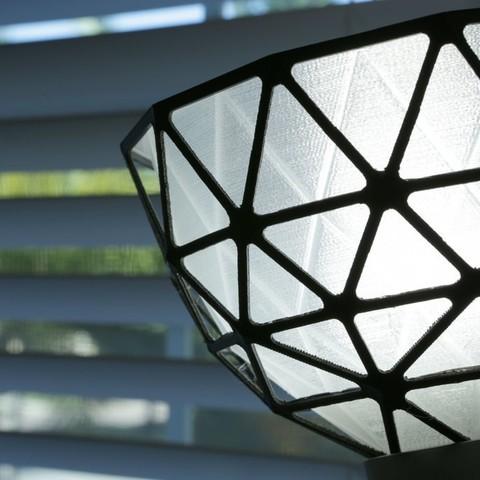c9083a5312891ea859cd6a5535e68482_display_large.jpg Download free STL file Geodesic Lamp Shade • 3D printer design, Adafruit