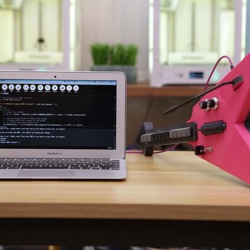 hero-code-laptop.jpg Download free STL file MX MIDI Guitar • 3D print model, Adafruit