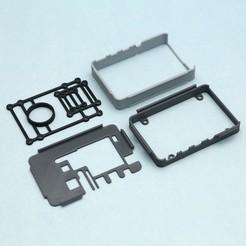 3d-parts-sm.jpg Télécharger fichier STL gratuit BrainCraft HAT Camera Case for Raspberry Pi • Plan pour impression 3D, Adafruit