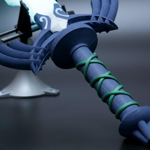 hero-sword-handle.jpg Télécharger fichier STL gratuit LED Zelda Master • Modèle pour imprimante 3D, Adafruit