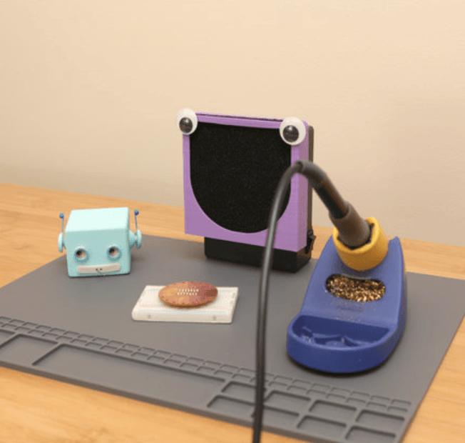Capture d'écran 2018-04-18 à 09.53.09.png Download free STL file Fumey The Fume Extractor • 3D printer object, Adafruit