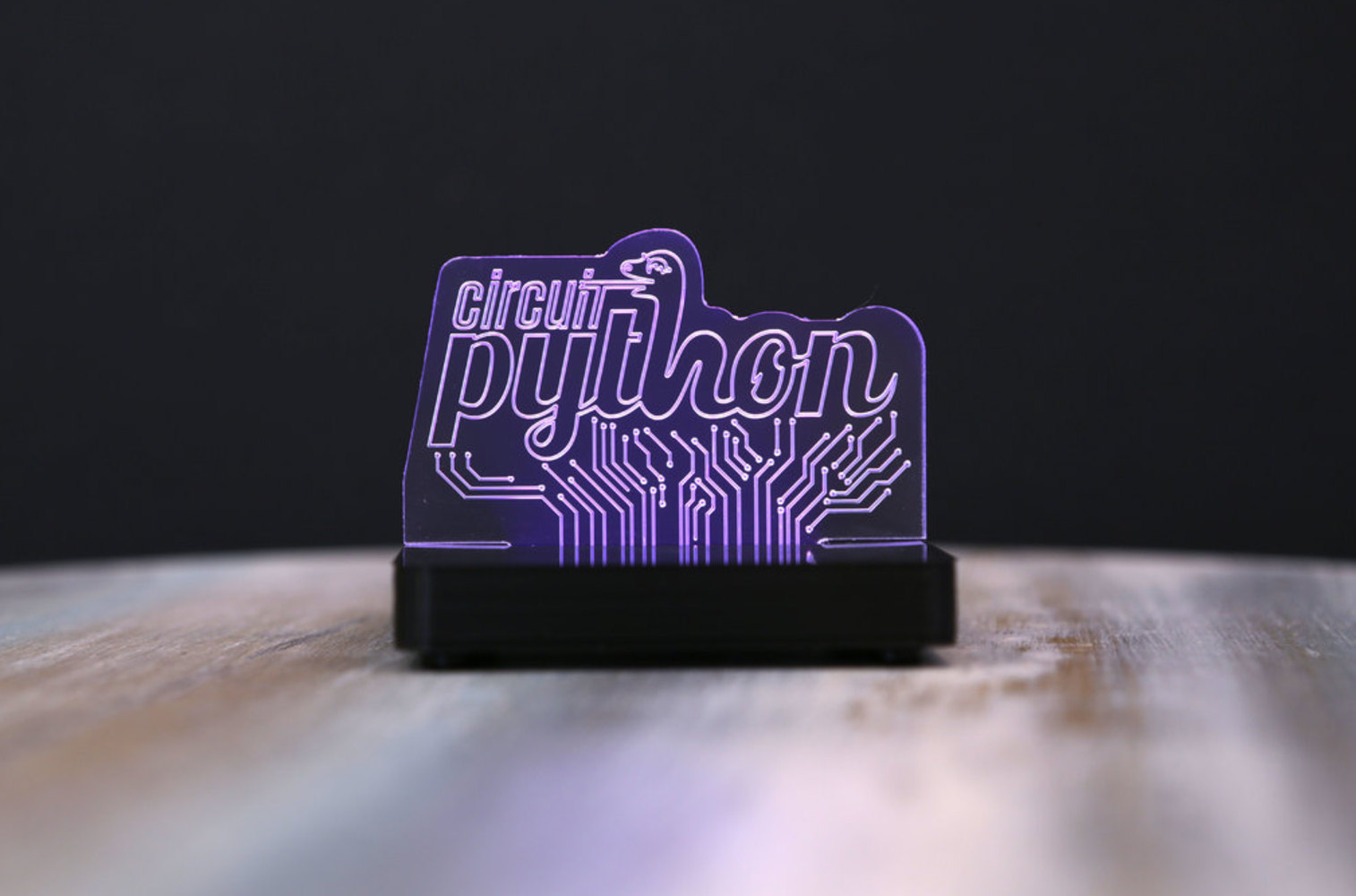 Capture d'écran 2017-09-01 à 10.48.28.png Download free STL file LED Acrylic Sign with NeoPixels and Circuit Python • Model to 3D print, Adafruit