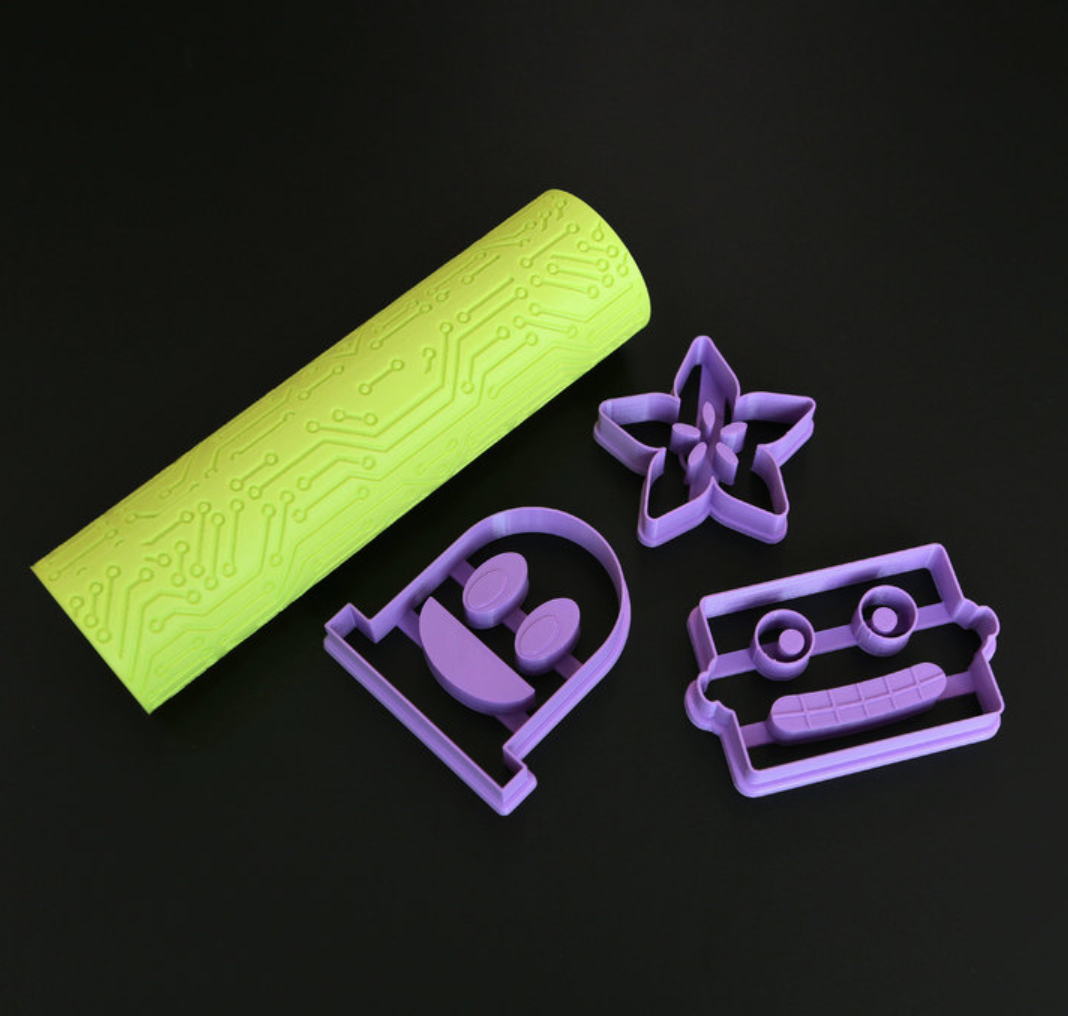 Capture d'écran 2018-01-24 à 11.27.34.png Download free STL file Circuit Cookie Roller • 3D printable template, Adafruit