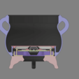 Download free 3D printing templates Circuit Playground Bluefruit Cauldron, Adafruit