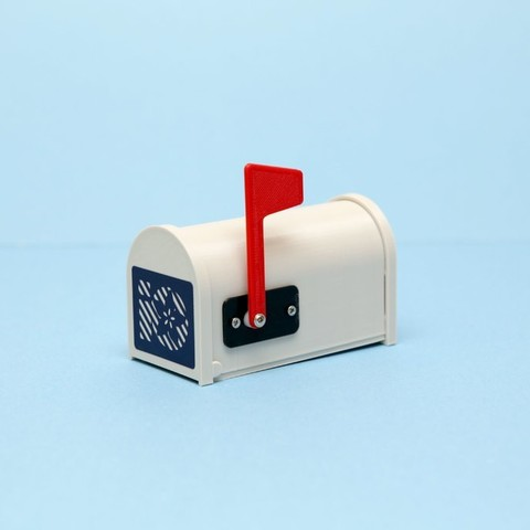 Free 3d printer designs IoT Gmailbox, Adafruit