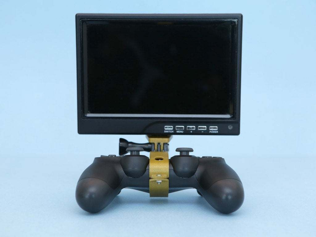 hero-front.jpg Download free STL file PS4 Display Tripod Mount • Template to 3D print, Adafruit