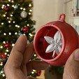 Télécharger modèle 3D gratuit Ornement Snap Fit avec inserts Spinner, Adafruit
