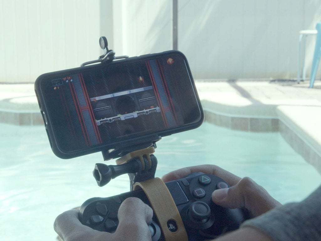 hero-pool.jpg Download free STL file PS4 Display Tripod Mount • Template to 3D print, Adafruit