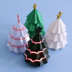 Download free 3D printer templates Christmas Tree for Circuit Playground, Adafruit