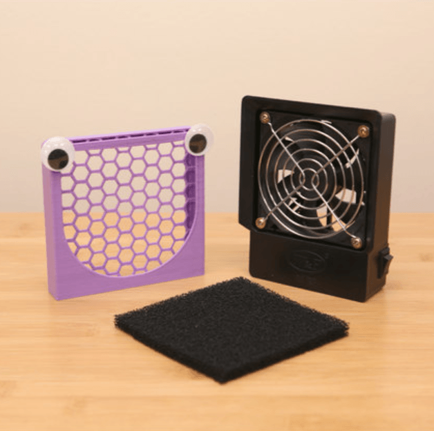 Capture d'écran 2018-04-18 à 09.53.19.png Download free STL file Fumey The Fume Extractor • 3D printer object, Adafruit