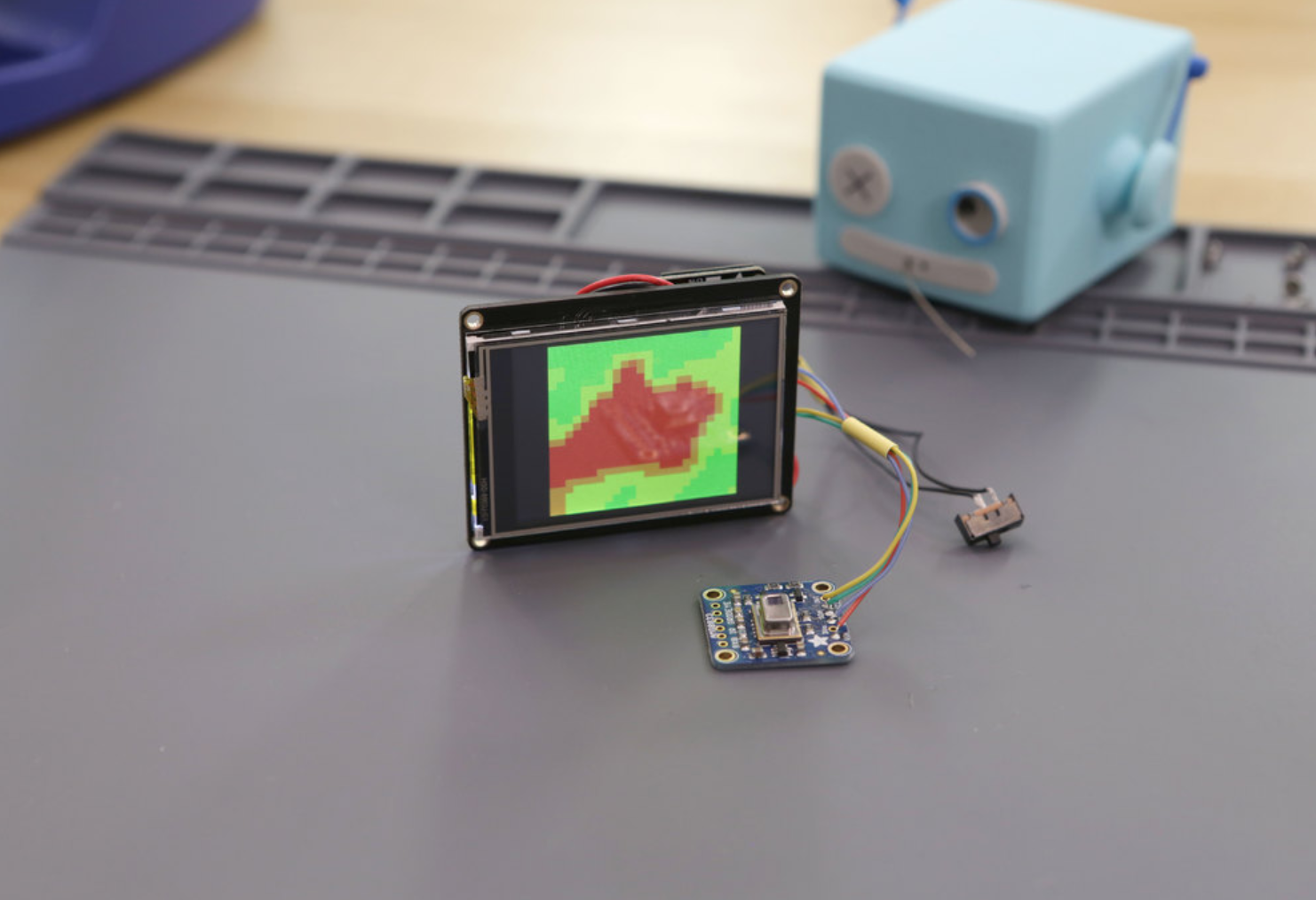 Capture d'écran 2018-01-17 à 15.01.00.png Download free STL file DIY Mini Thermal Camera with Display • Object to 3D print, Adafruit