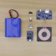 Download free 3D printer templates Portable Qi Charger, Adafruit