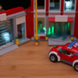 Download free 3D printer templates Lego LED Brick, Adafruit