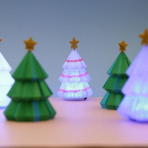 7f86e4d7375deaec810767eeb213a965_display_large.jpg Download free STL file Christmas Tree for Circuit Playground • 3D printer model, Adafruit