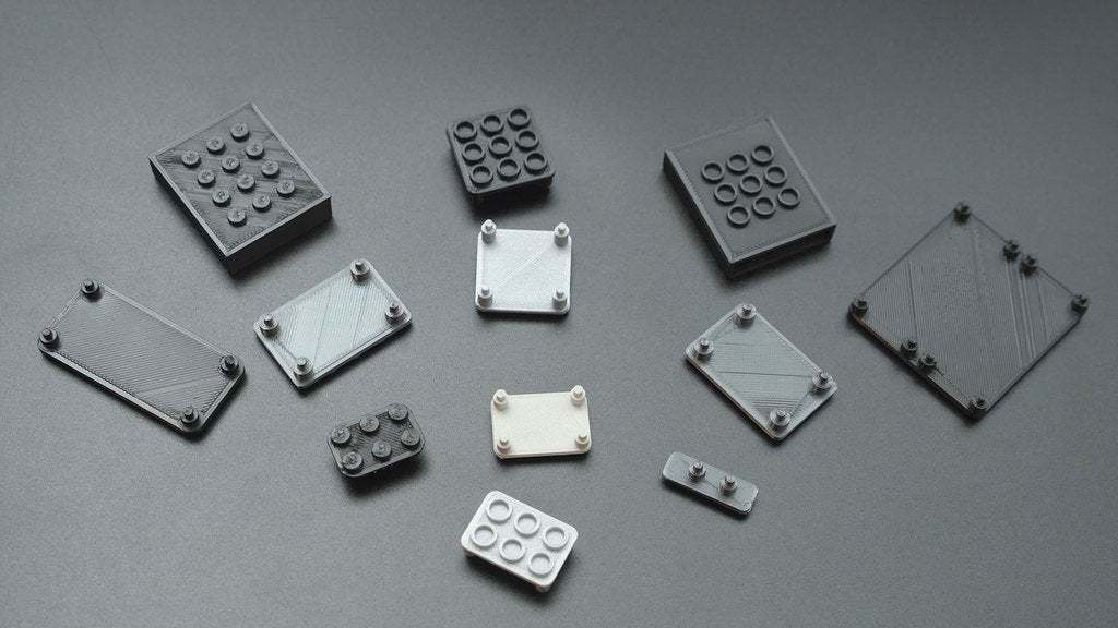 all-legos.jpg Download free STL file STEMMA Lego Base Plate • 3D printable model, Adafruit