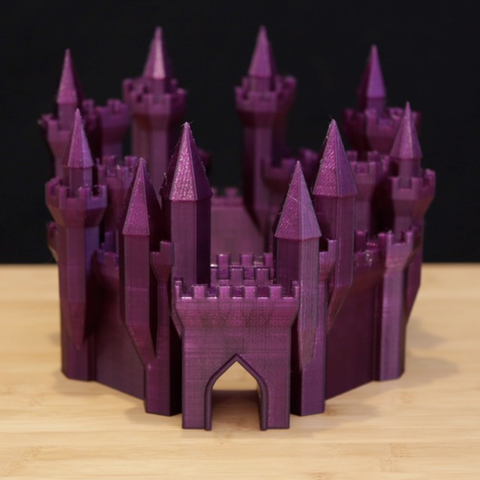 Free 3d printer designs Grand Castle Generator, Adafruit