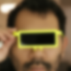 Free LCD Glasses STL file, Adafruit
