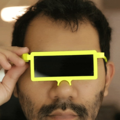 Download free 3D printing designs LCD Glasses, Adafruit