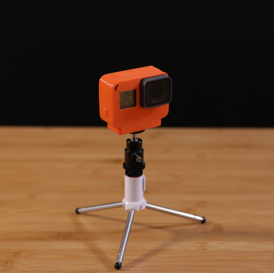 Capture d'écran 2016-12-29 à 10.19.14.png Download free STL file GoPro Hero 5 Flexible Case • 3D printing object, Adafruit