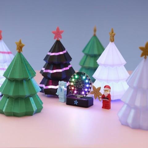 c549373fbd75edc7f062d9adf3615d4c_display_large.jpg Download free STL file Christmas Tree for Circuit Playground • 3D printer model, Adafruit