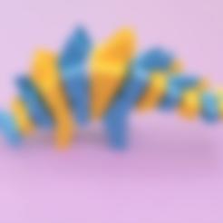 Free STL file Flexy Stego Dual Extruded, Adafruit