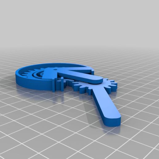 matrix-handle.png Download free STL file RGB Matrix Slot Machine • 3D print object, Adafruit