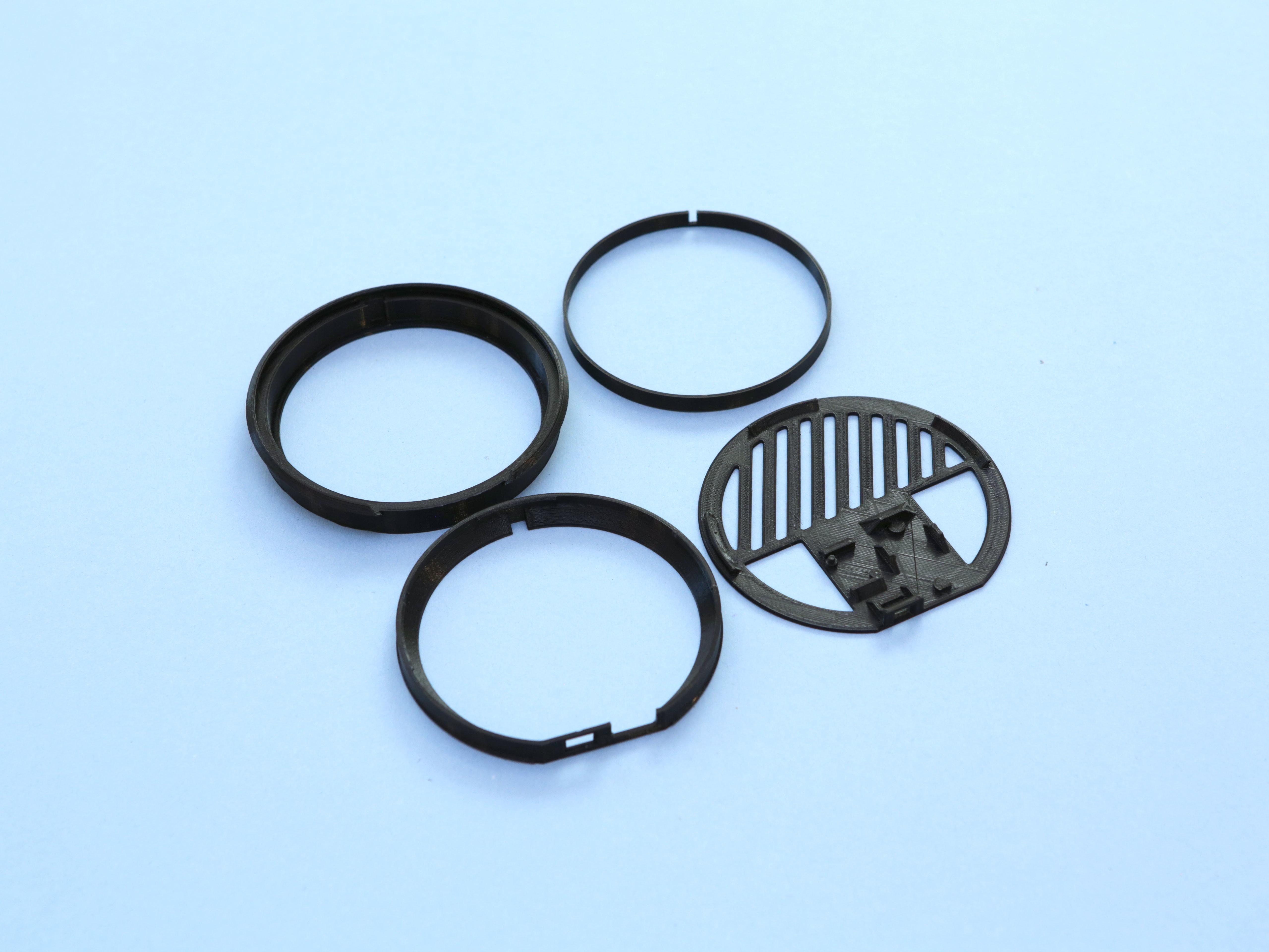 3d-parts.jpg Télécharger fichier STL gratuit Miroir Infini • Objet à imprimer en 3D, Adafruit