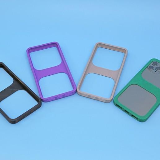 Download free 3D printing designs iPhone 11 Pro Bumper Case, Adafruit