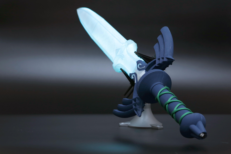 hero-sword-1.jpg Télécharger fichier STL gratuit LED Zelda Master • Modèle pour imprimante 3D, Adafruit