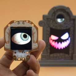 hero-hallowing-eye-2.jpg Download free STL file Halloween Tombstone • Template to 3D print, Adafruit