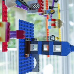 plan 3d gratuit scotch Lego, Adafruit