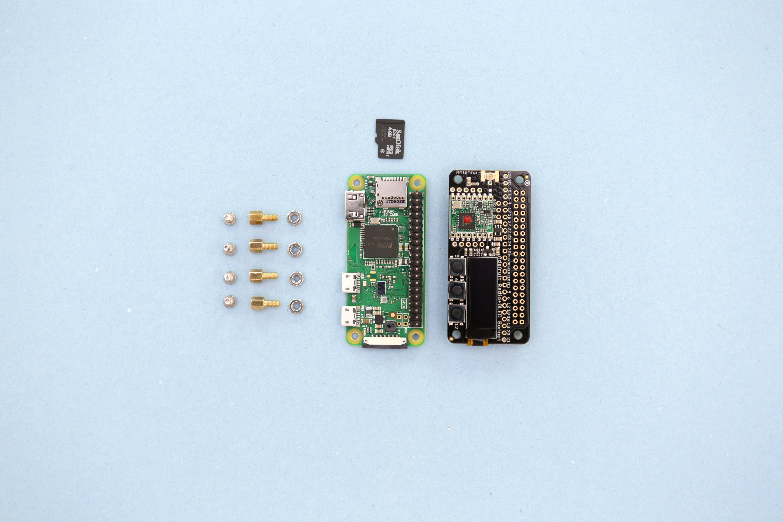 parts.jpg Download free STL file Raspberry Pi Zero Stand • 3D printing object, Adafruit