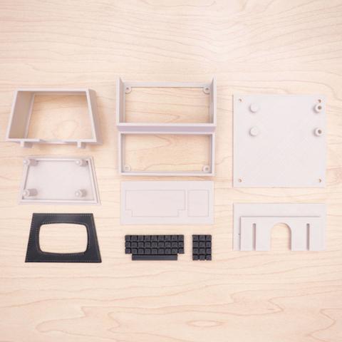 Capture d'écran 2016-12-01 à 10.43.46.png Télécharger fichier STL gratuit Mini Commodore PET with Charlieplexed LED Matrix • Plan à imprimer en 3D, Adafruit