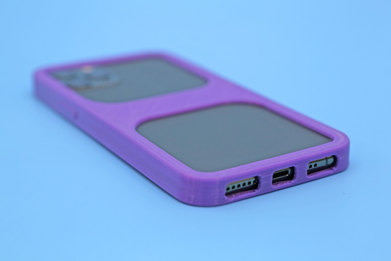 hero-close-port.jpg Download free STL file iPhone 11 Pro Bumper Case • 3D printer model, Adafruit
