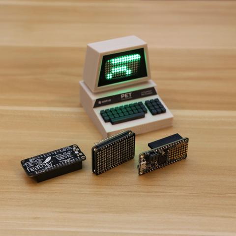 Capture d'écran 2016-12-01 à 10.43.56.png Télécharger fichier STL gratuit Mini Commodore PET with Charlieplexed LED Matrix • Plan à imprimer en 3D, Adafruit