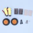 STL gratuit CRICKIT Lego Rover, Adafruit