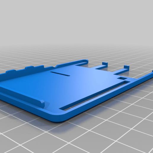 back-cover.png Download free STL file Raspberry Pi HQ Camera Case • 3D print design, Adafruit