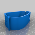 ps4-clamp.png Download free STL file PS4 Display Tripod Mount • Template to 3D print, Adafruit