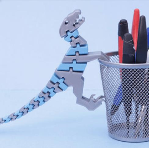 Capture d'écran 2018-07-05 à 09.57.23.png Download free STL file Flexi Raptor (Dual Extrusion) • 3D print model, Adafruit
