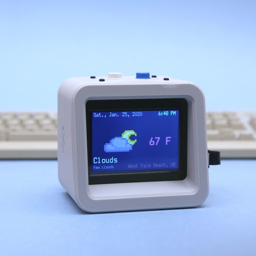 hero-blue.jpg Download free STL file ESP32 Retro Weather Station • 3D printer template, Adafruit