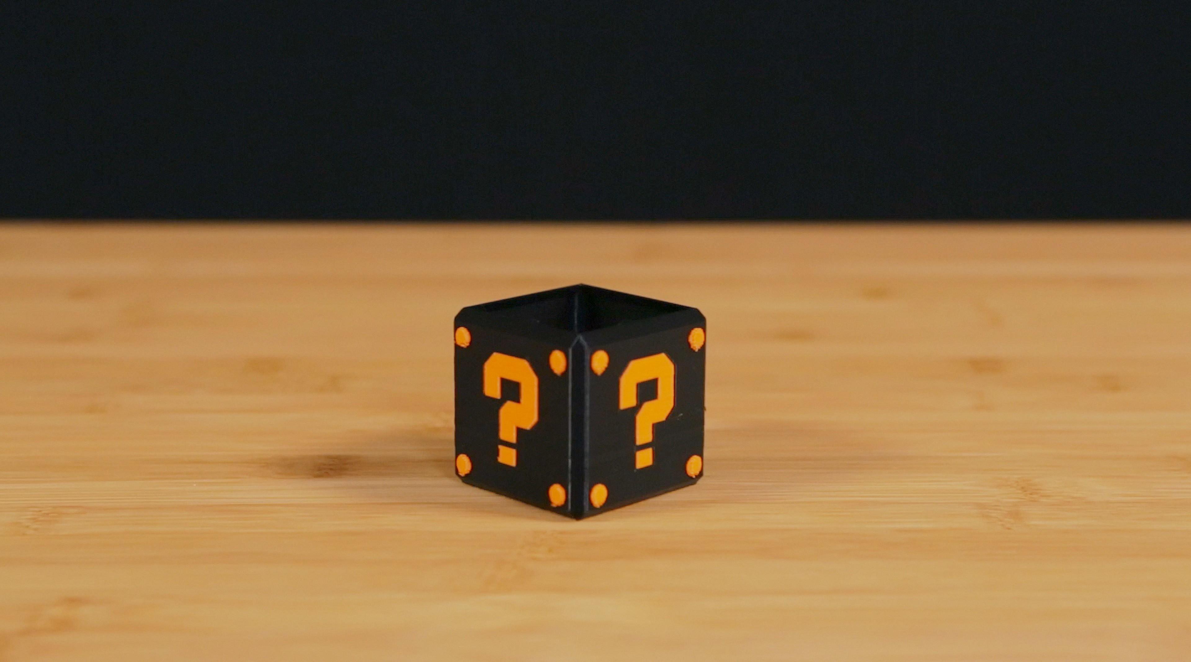 qbox-thumb2.jpg Download free STL file Dual Extrusion Question Block • 3D print template, Adafruit