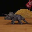 Download free 3D printing designs TriceraTaco, Adafruit