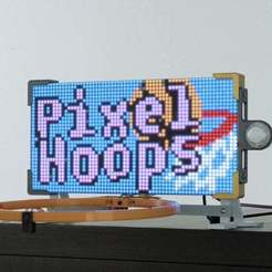 hero-2.jpg Download free STL file LED Matrix Scoreboard • Template to 3D print, Adafruit