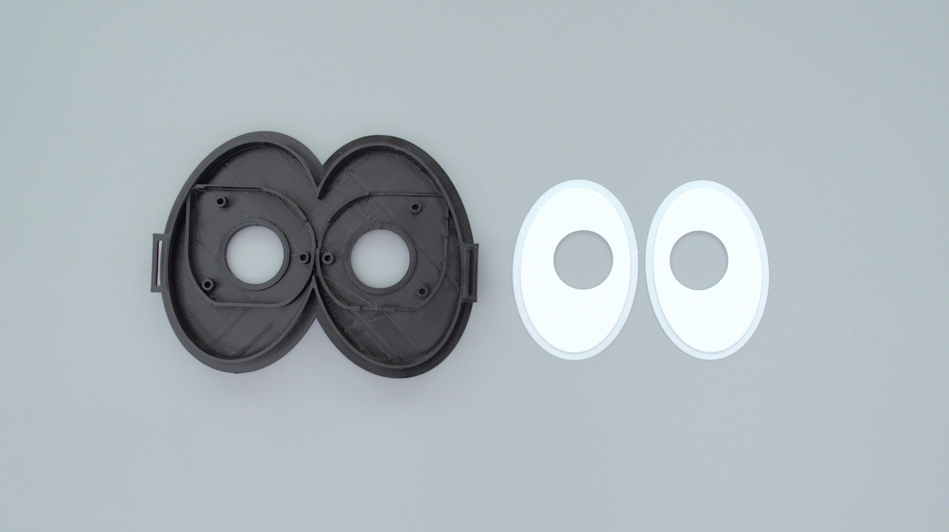 3d-parts.jpg Télécharger fichier STL gratuit Mario Cappy Chapeau Animated Eyes Animated Eyes • Objet imprimable en 3D, Adafruit