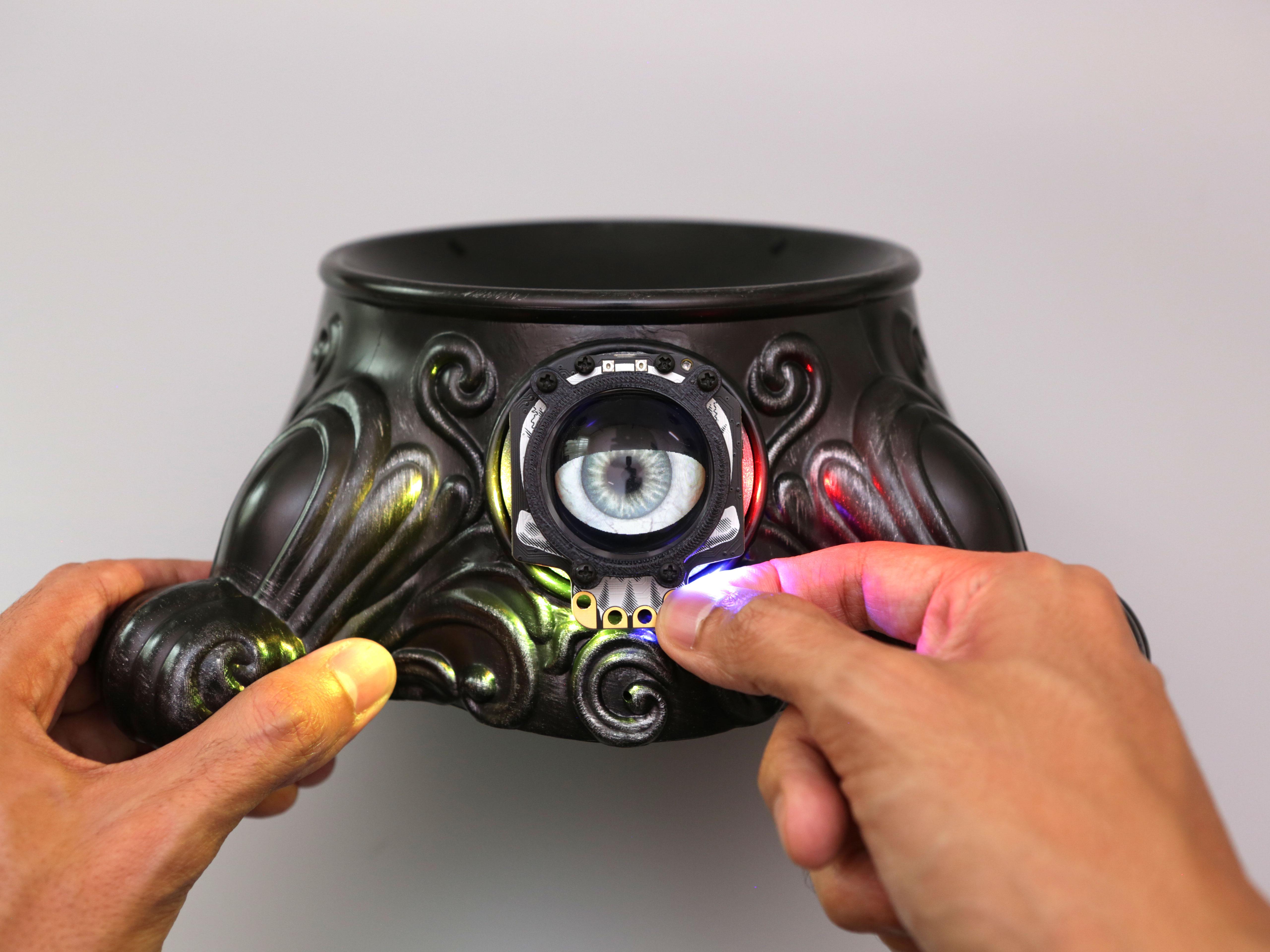 final-touch-test.jpg Télécharger fichier STL gratuit Animated Eye Candy Bowl Upgrade (en anglais seulement) • Design imprimable en 3D, Adafruit