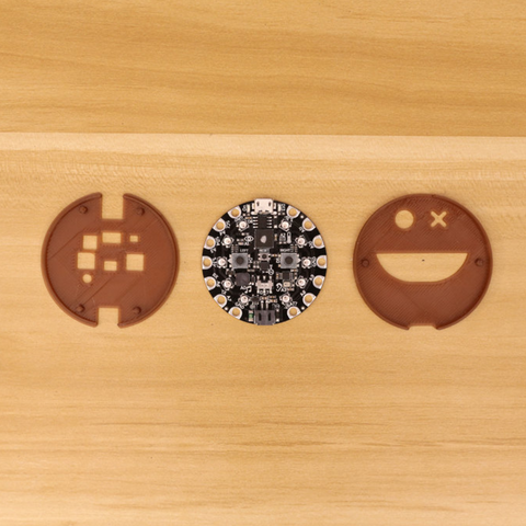 Download free 3D printing templates Circuit Playground Express Case, Adafruit