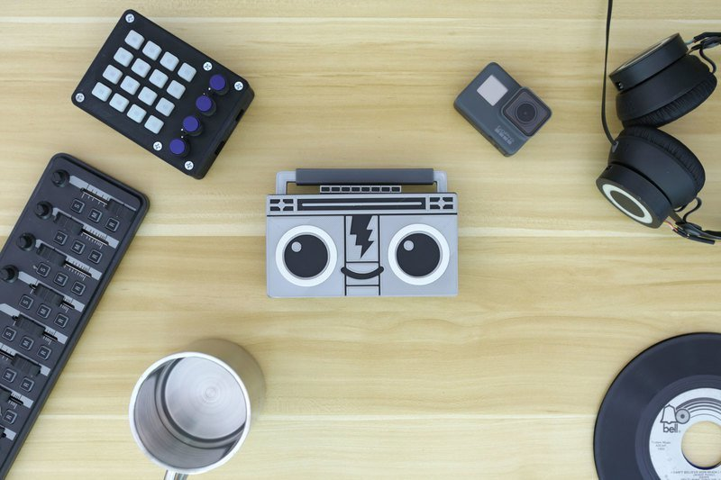 hero-boomy-desk.jpg Download free STL file Boomy The BoomBox • 3D print design, Adafruit
